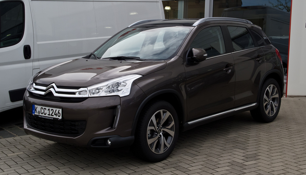 CITROEN C4 AIRCROSS 1.6 HDI 115 EXCLUSIVE 4X4 Diesel